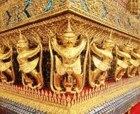 Golden Garuda of Wat Phra Kaew at Bangkok Royalty Free Stock Photo