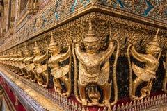 Golden Garuda of Wat Phra Kaew Royalty Free Stock Photo