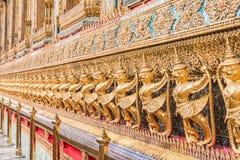 Golden Garuda of Wat Phra Kaew Stock Image