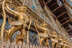 Golden Garuda of Wat Phra Kaew Stock Photography