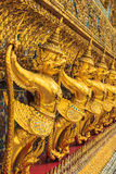 Golden Garuda Of Wat Phra Kaew In Bangkok Royalty Free Stock Photos