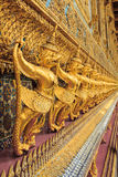Golden Garuda Of Wat Phra Kaew In Bangkok Stock Photo