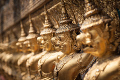 Golden Garuda of Wat Phra Kaew at Bangkok, Thailand Stock Photo