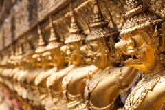 Golden Garuda of Wat Phra Kaew at Bangkok, Thailand Stock Photography
