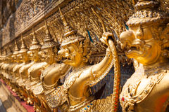 Golden Garuda of Wat Phra Kaew at Bangkok, Thailand Stock Photos