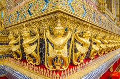 Golden Garuda Wat Phra Kaew,Bankok, Thailand Royalty Free Stock Photos