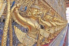 Golden Garuda at Wat Phra Kaew Royalty Free Stock Image