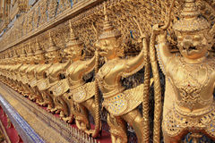 Golden Garuda at Wat Phra Keao Temple, Bangkok Tha Stock Images