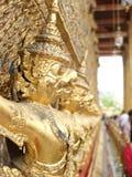 The Golden Garudas royalty free stock photo