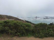 Golden Gate übersehen Lizenzfreies Stockbild