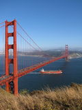Golden gate royalty free stock images