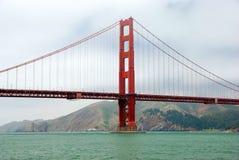 Golden Gate. Bridge in San Francisco in fog Royalty Free Stock Photography