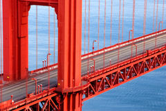 Golden gate Royalty Free Stock Photography