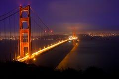 Golden Gate. Full Golden Gate Bridge in San Francisco Stock Images