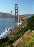 Golden Gate. View of Golden Gate Bay and bridge Royalty Free Stock Photography