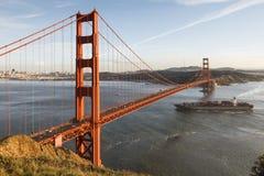Golden Gate. The iconic Golden Gate Bridge, California, USA Royalty Free Stock Photos