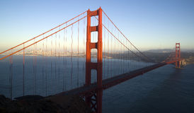 The Golden Gate Bridge Carries Highway 101 South Stock Image