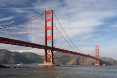 Golden gate 3 Stock Photography