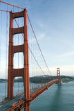 Golden Gate. Bridge and San Francisco Bay Stock Photos
