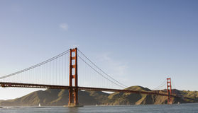 Golden Gate. Bridge and San Francisco Bay Stock Images