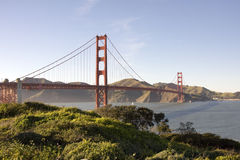 Golden Gate. Bridge and San Francisco Bay Stock Image
