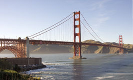 Golden Gate. Bridge and San Francisco Bay Royalty Free Stock Photos