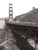 Golden Gate. Traffic on Golden Gate Stock Photos