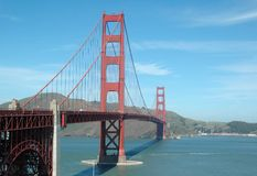 Golden gate. Bridge in San Francisco, California royalty free stock photo