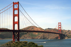 Golden Gate. Bridge in San Francisco Royalty Free Stock Photos