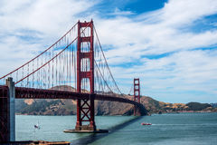 Golden Gate Lizenzfreies Stockbild