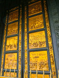 Golden Gate of the Baptistery. Florence Stock Photography