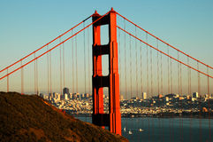 Golden Gate Beauty Stock Photo