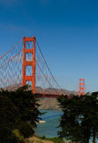Golden Gate - Big Blue Sky Royalty Free Stock Photography