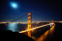 Golden Gate Bridg Royalty Free Stock Photography