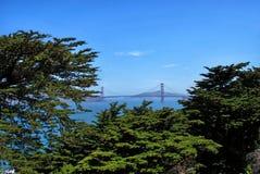 Golden gate bridge à San Francisco, la Californie Etats-Unis image libre de droits
