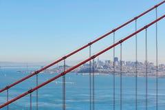 Golden gate bridge à San Francisco, la Californie, Etats-Unis images libres de droits