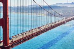 Golden gate bridge à San Francisco, la Californie, Etats-Unis photo libre de droits