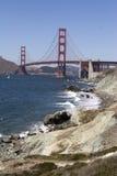 Golden Gate Bridge. In san francisco Stock Images