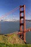 Golden Gate Bridge. View from Marin Headlands Stock Images