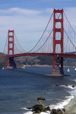 Golden Gate Bridge. The Golden Gate Bridge in San Francisco Stock Photos