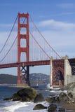 Golden Gate Bridge. The Golden Gate Bridge in San Francisco Royalty Free Stock Photography