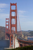 Golden Gate Bridge. High traffic on the Golden Gate Bridge Royalty Free Stock Photos