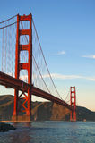 Golden Gate Bridge. The historic Golden Gate Bridge, San Francisco, California stock photos