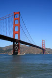 The Golden Gate Bridge. Golden Gate Bridge in San Francisco California Stock Photos
