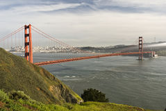 Golden Gate Bridge. Golden Gate Royalty Free Stock Photography
