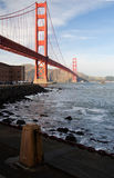 Golden Gate Bridge. San Francisco's Golden Gate Bridge, symbol of the west, of America, and of California Stock Photos