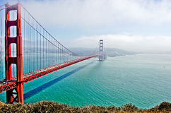 The Golden Gate Bridge Royalty Free Stock Photos