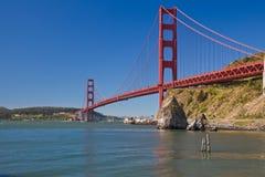 Golden Gate Bridge. View of the Golden Gate Bridge in San Francisco, CA, USA Royalty Free Stock Photos