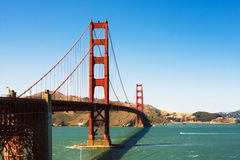 Golden Gate Bridge. Is a very famous landmark of San Francisco, California, United States Royalty Free Stock Image