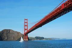 Golden Gate Bridge. And nautilus Stock Images